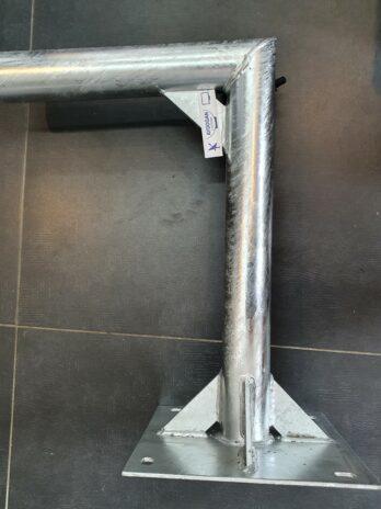 Wandhalterung 70 cm Ø 60mm