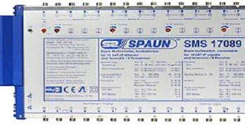 Spaun  Multischalter 17x17x8